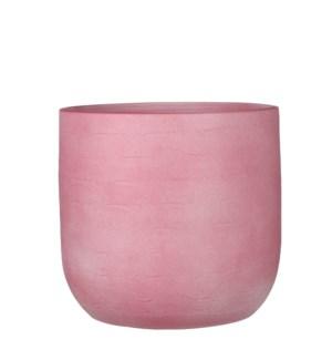 """Nora pot round l. pink - 9.75x9.5"""""""