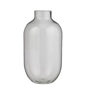 "Roslyn vase glass - 7.25x13.75"""
