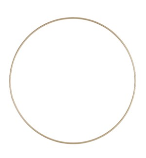 Decoration hanger circle gold - 11.75x0.25""