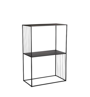 Paco shelf black - 23.75x11.75x34.75""