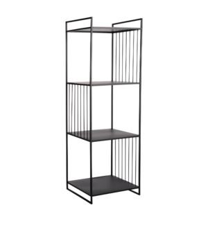 "Paco shelf black - 15.25x15.25x47.25"""