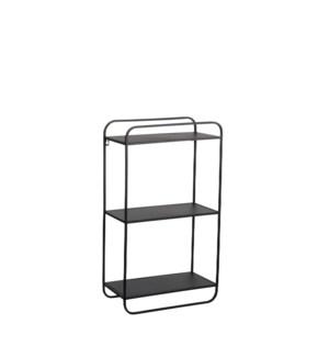 """Padma shelf rack black - 15.75x8x27.75"""""""