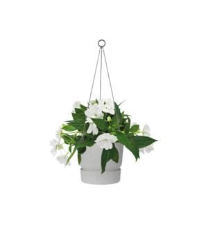 greenville hanging basket 24cm living concrete