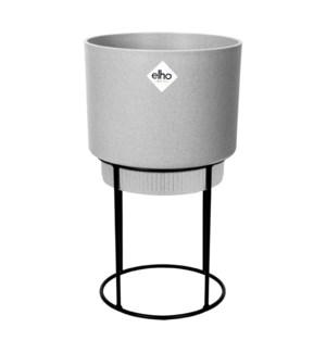 b.for studio round 22cm living concrete