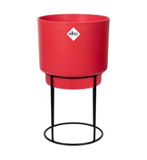 b.for studio round 22cm brilliant red
