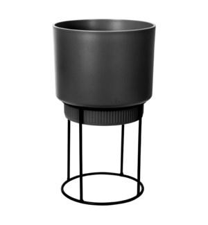b.for studio round 30cm living black