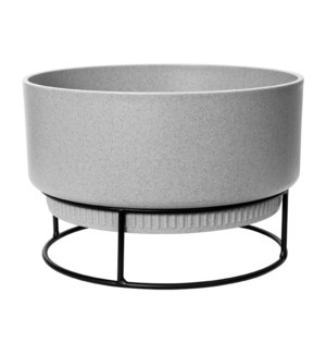 b.for studio bowl 30cm living concrete
