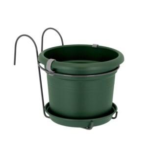 green basics balcony potholder all-in-1 leaf green