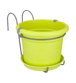 green basics balcony potholder all-in-1 lime green