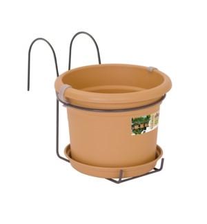 green basics balcony potholder all-in-1 mild terra