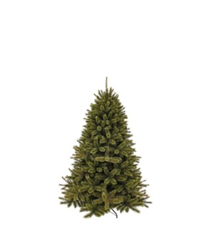 """Forest frosted pine xmas tree green TIPS 396 - 39""""x4'"""