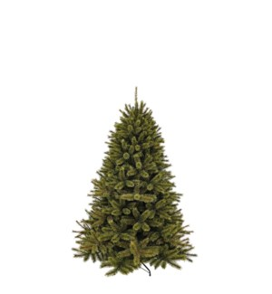 """Forest frosted pine xmas tree green TIPS 618 - 47""""x5'"""