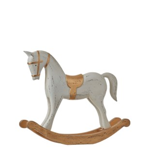 Rockinghorse white - 15.75x3.25x11.75""