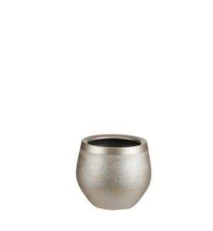 """Douro pot round gold - 8x7"""""""