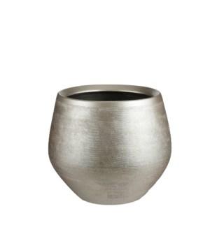"""Douro pot round gold - 11.5x9.75"""""""