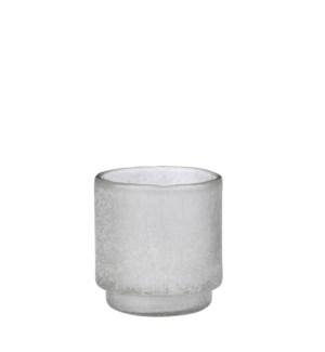 """Tealight holder white - 4.75x4.75"""""""