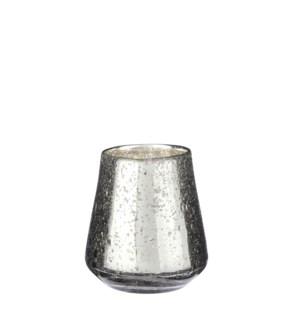 "Tealight holder silver - 4.25x4.25"""