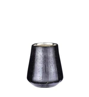 """Tealight holder blue - 4.25x4.25"""""""