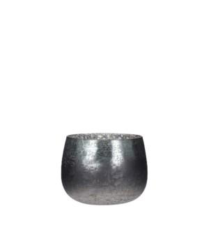 "Tealight holder grey - 6.5x5"""