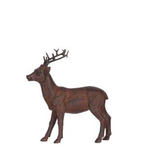 """Deer brown - 5.5x2x6.25"""""""