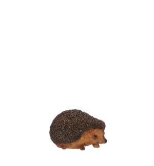 """Hedgehog brown - 3.75x5.75x3.25"""""""