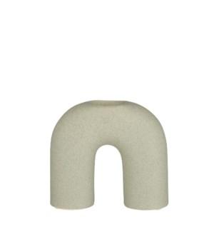 "Bouke pot arch l. green - 7x2.75x7"""