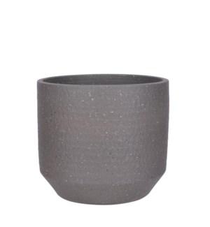 """Quinn pot round d. grey - 11.5x10.25"""""""