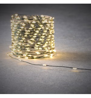 Outdoor String LED Wire B/O on timer 30L  Green - 9.85'