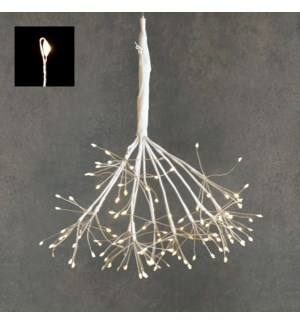 """Outdoor LED Twinkling Dandelion P/I 120L Classic White - 13.75"""""""