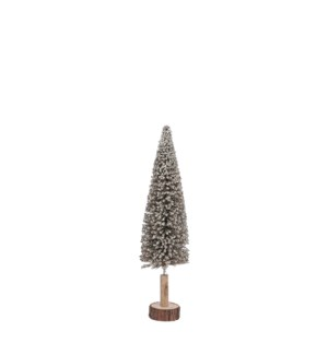 "Decoration tree champagne - 4.75x19.75"""