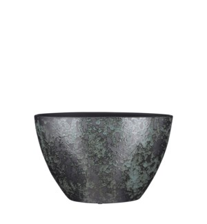 Nicolas pot oval green - 16.25x8x10.25""