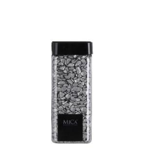 """Marbles glitter silver 550ml - 3x3x6.25"""""""
