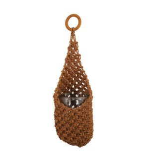 Basket hanging brown - 6.75x15.75""