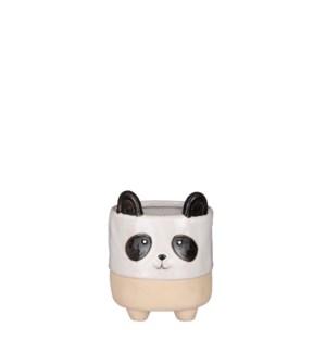 "Pot panda beige display - 5.5x6.5"""