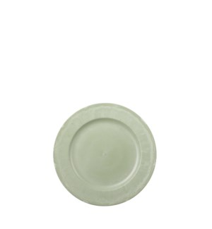 Mila decoration plate green - 11.75""