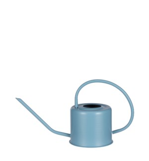 Watering can blue - 14x5.5x7""