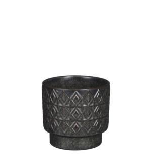 """Helen pot round black - 5.5x5"""""""