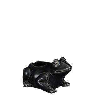 """Pot frog petrol - 6.75x5x4"""""""