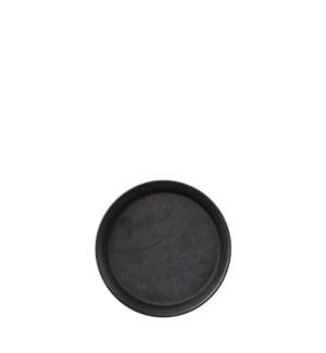 """Elba plate black - 6.25"""""""