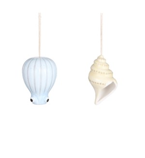 "Pot hanging sea animals 2 assorted - 3.75x7"""