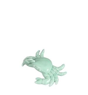 "Decoration crab green - 6x5x1.75"""