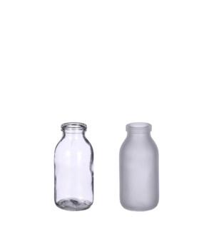 """Steffie single flower vase glass 2 assorted - 2x4.25"""""""
