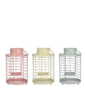 """Lantern blue l. yellow l. pink 3 assorted - 5.5x9"""""""