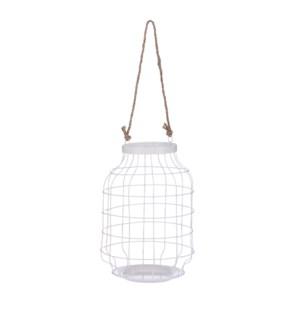 """Lantern white - 8x12.5"""""""