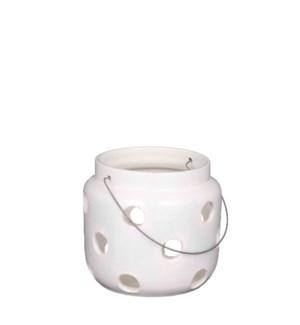 """Arena lantern white - 10.25x9.5"""""""