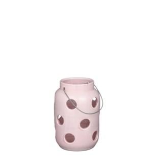 """Arena lantern pink - 6.75x9.75"""""""