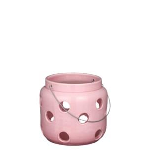 """Arena lantern pink - 10.25x9.5"""""""