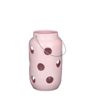 """Arena lantern pink - 8x13.75"""""""