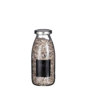 "Shell granulate brown pearl 250 ml - 2.5x2.5x8"""