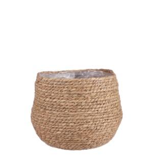 """Jorck basket round brown - 10.25x9.5"""""""